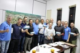 """Consulado do Grêmio em Carazinho convidando para palestra """"Gestão e futebol"""""""