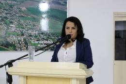 Elisnara Muniz Machado do IMEP na Tribuna Livre