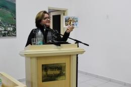 Ilse Maria Piva Paim, representante do Programa Desperta Carazinho, falou na Tribuna Livre