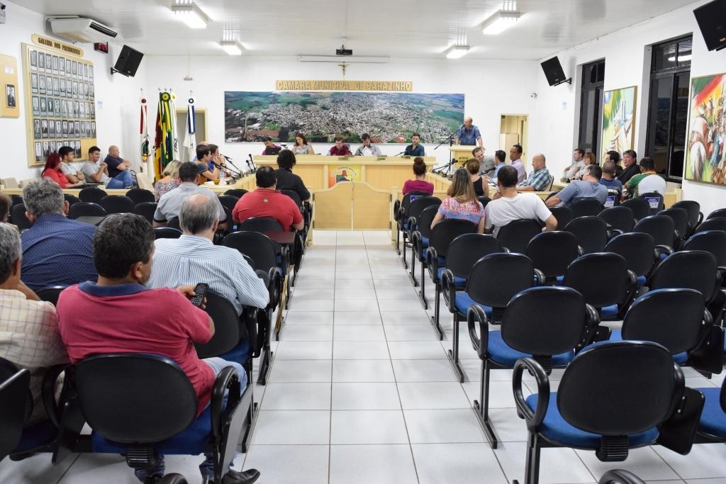 Vereadores rejeitam novamente projeto que cria vaga no PREVI