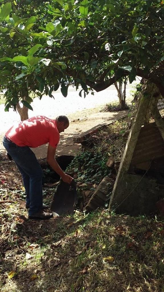 Vereador cobra tubos no bairro Sassi