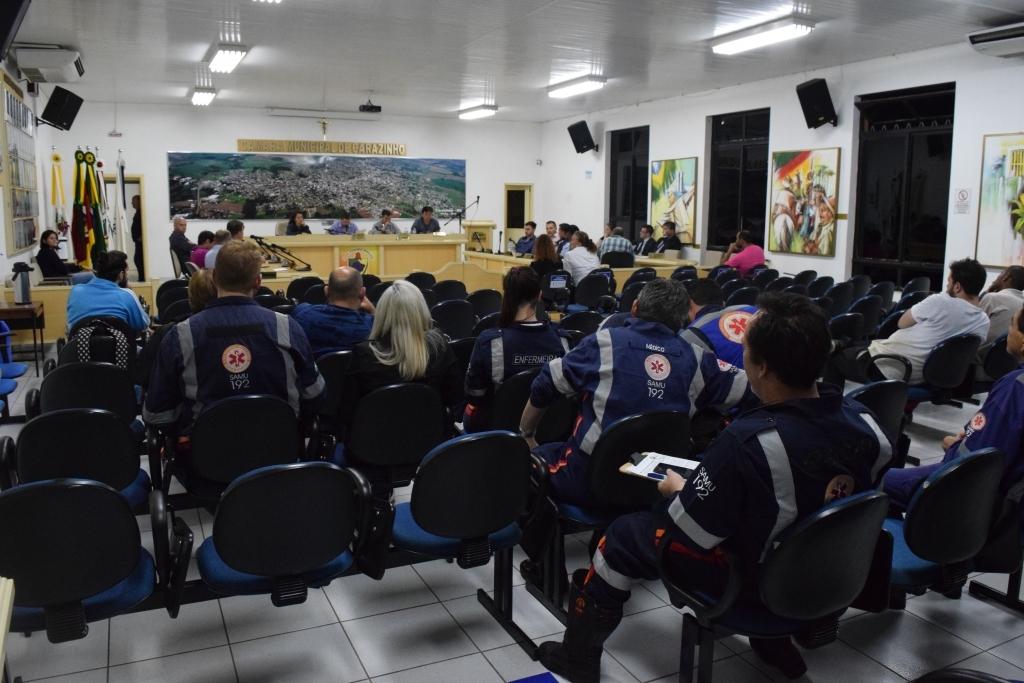 Vereadores aprovam contratação emergencial de profissionais para o SAMU