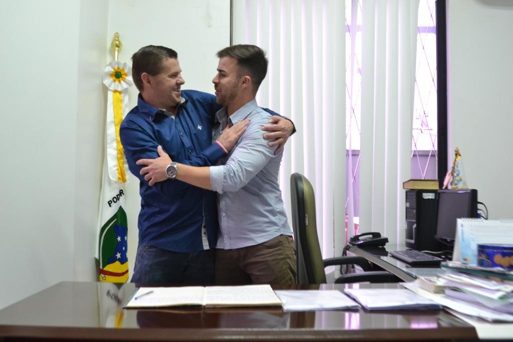 Gian Pedroso assume a presidência da Câmara