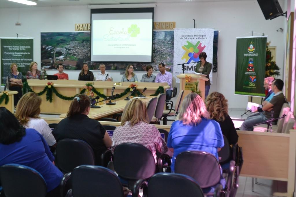 Rede municipal de ensino terá Programa Escola Sustentável a partir de 2017