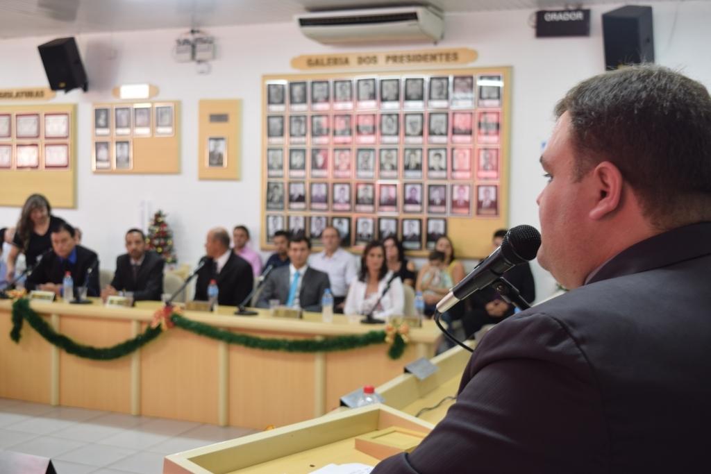 De Loreno é eleito presidente da Câmara de Vereadores