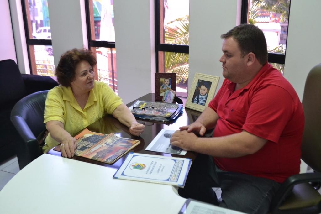 De Loreno recebe visita da presidente do Conselho Municipal de Políticas Públicas