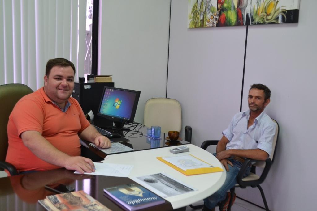 Morador do bairro Vila Nova faz reivindicações ao presidente