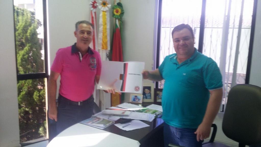 Clube Atlético pede apoio do Legislativo
