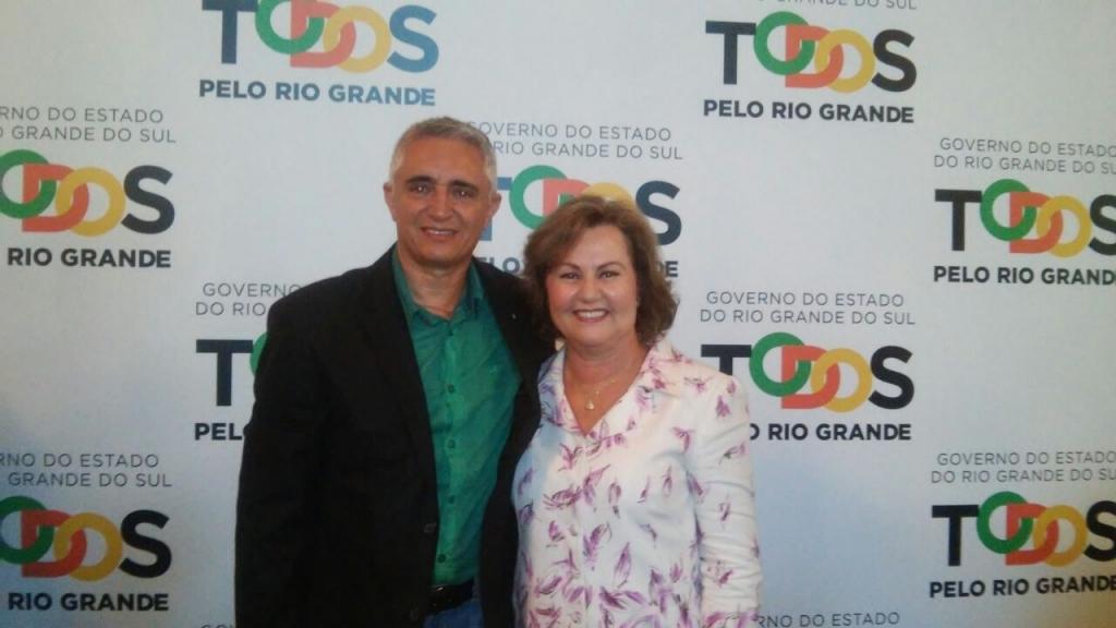 Vereador participa da cerimônia de posse de Silvana Covatti como governadora em exercício