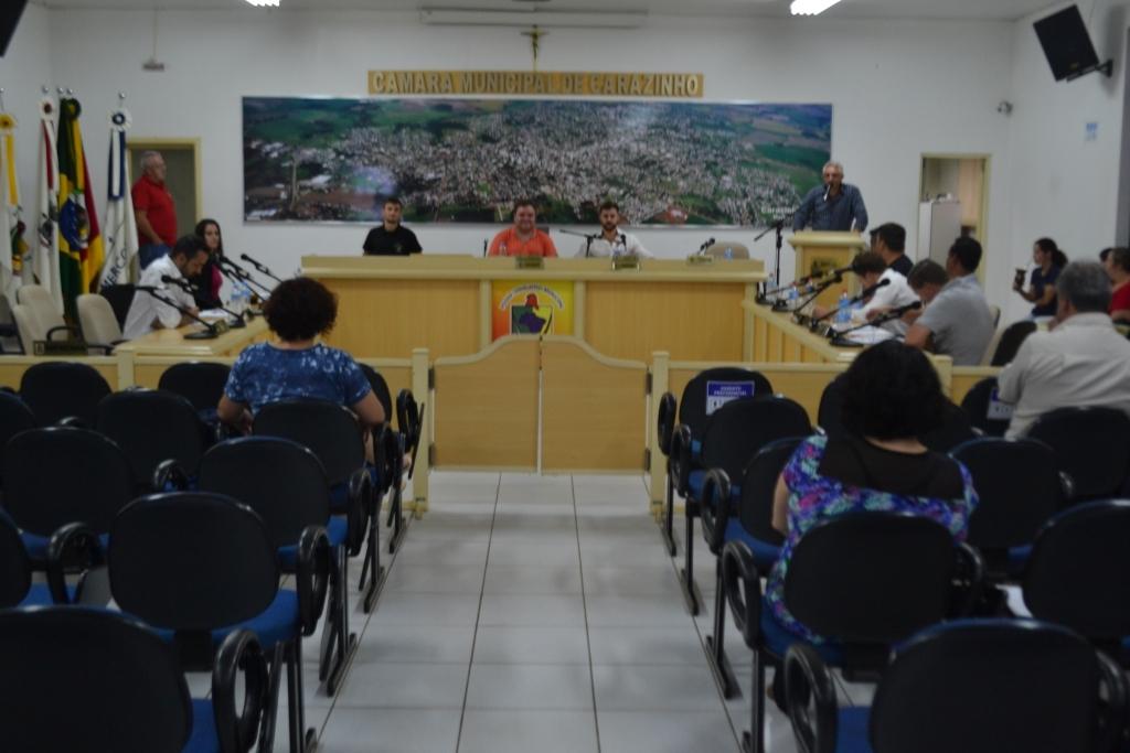 Durante sessão vereadores destacam os 86 anos do município