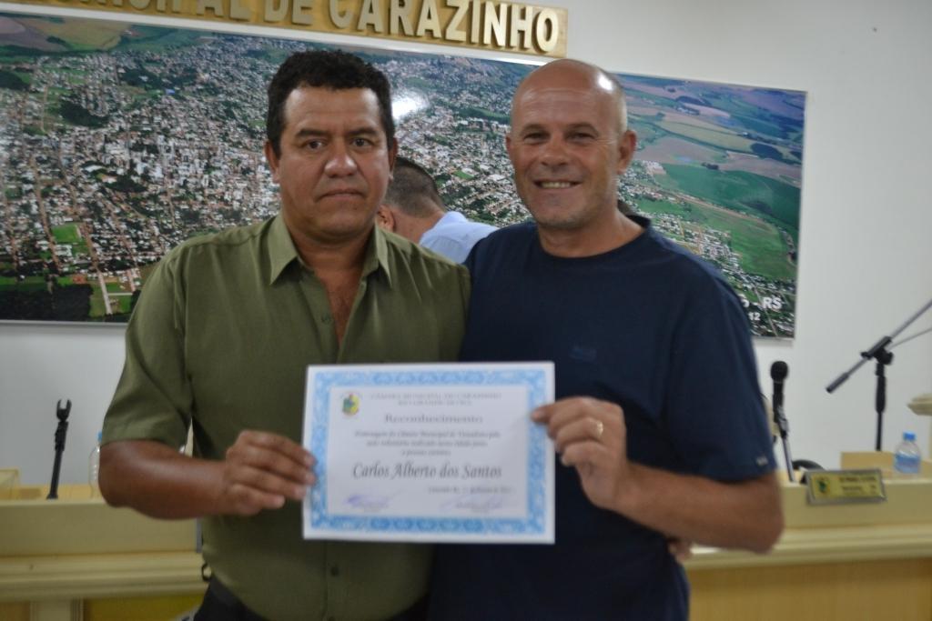 Vereador faz requerimento de aplauso por ação voluntária no município
