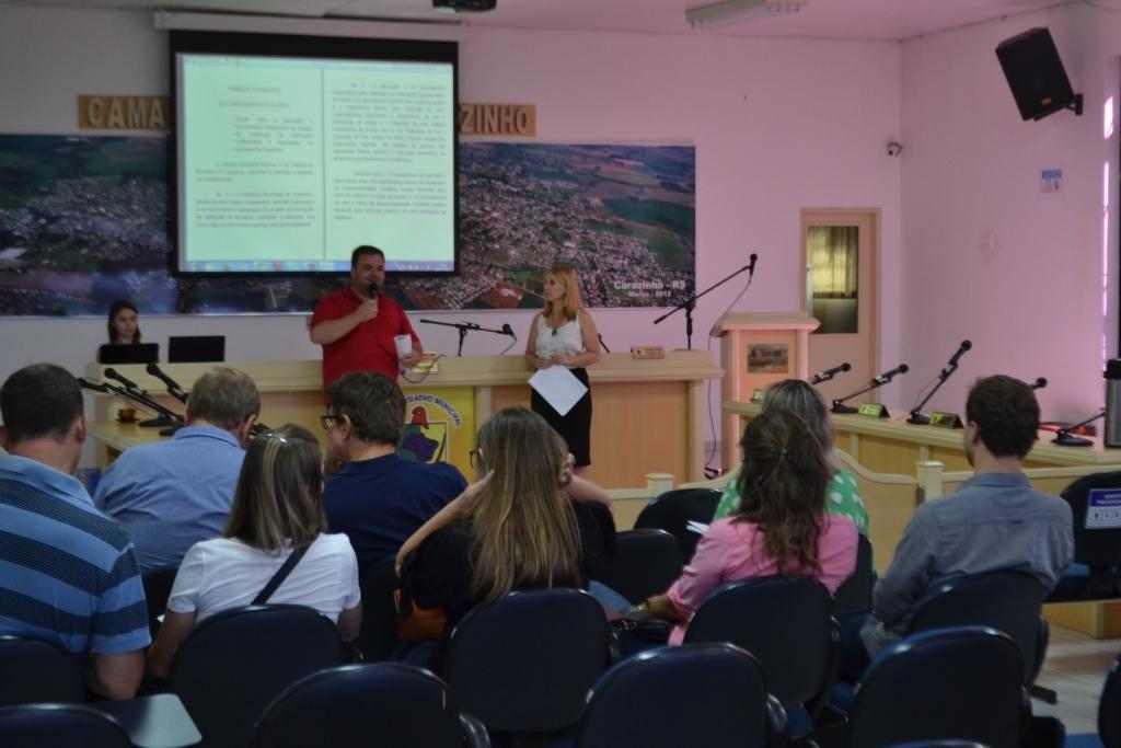 Alterações na legislação urbanística do município são apresentadas a comunidade
