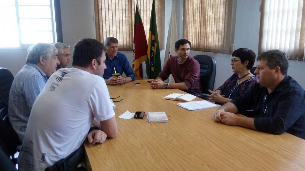 Município inicia tratativas pra realização de um Campeonato Municipal Interescolar