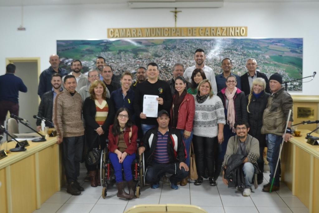 Vereadores aprovam projetos em benefício das pessoas com deficiência