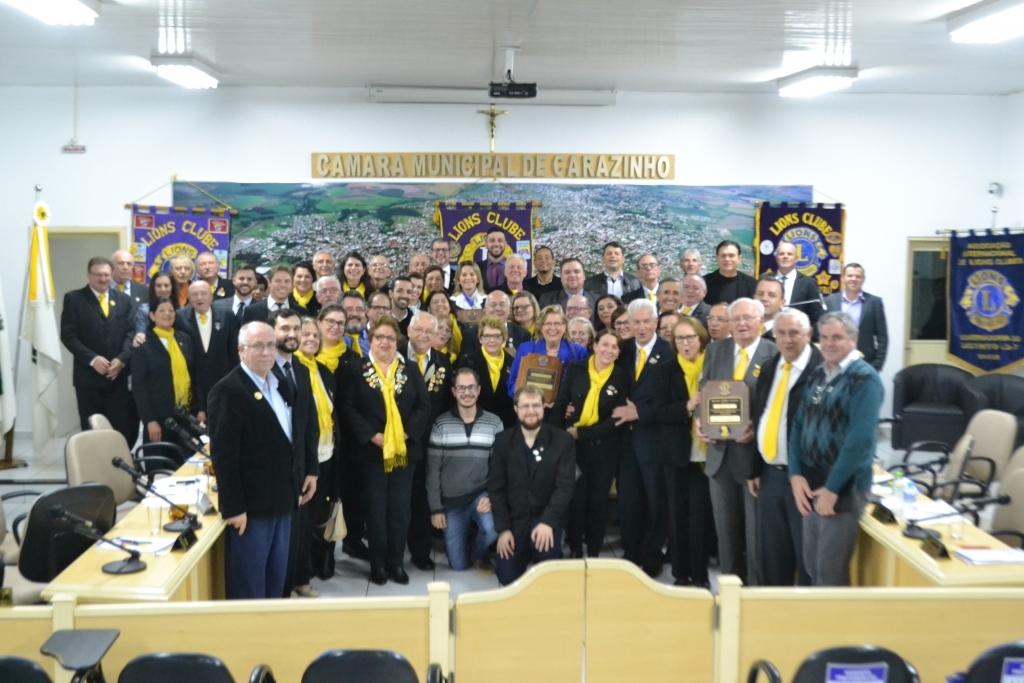 Câmara homenageia os 100 anos do Lions Clube Internacional