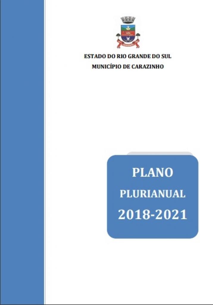 Plano Plurianual está em tramitação na Câmara de Vereadores