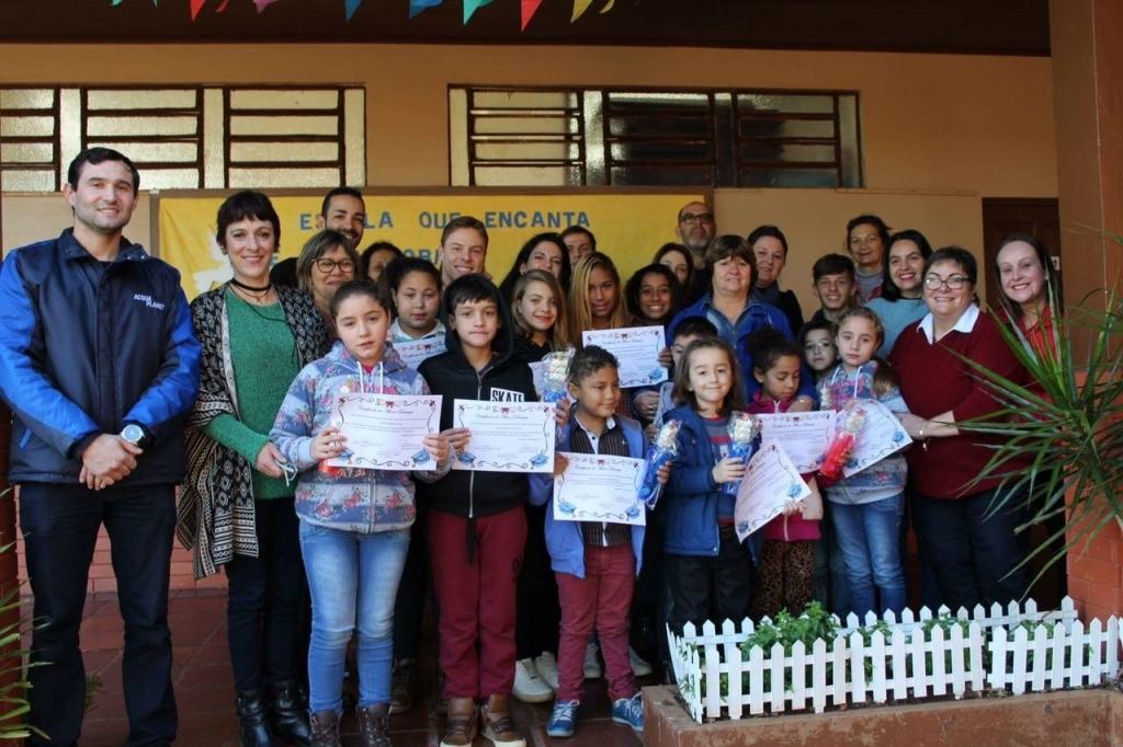 Vereadores participam do 5° Café Junino da EMEF João XXIII