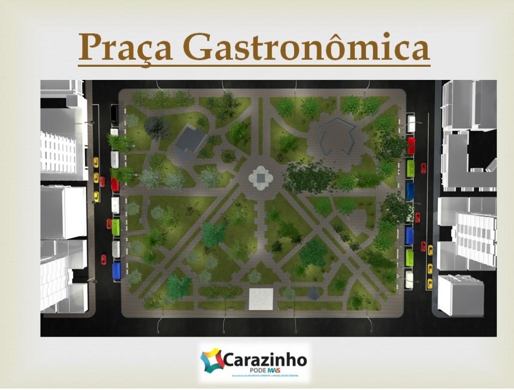 Projeto Praça Gastronômica é apresentado à comunidade