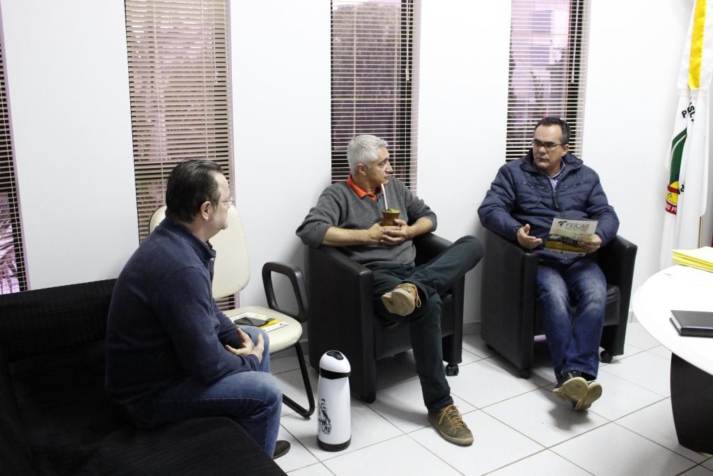 Deputado Gerson Borba visita a Câmara de Vereadores