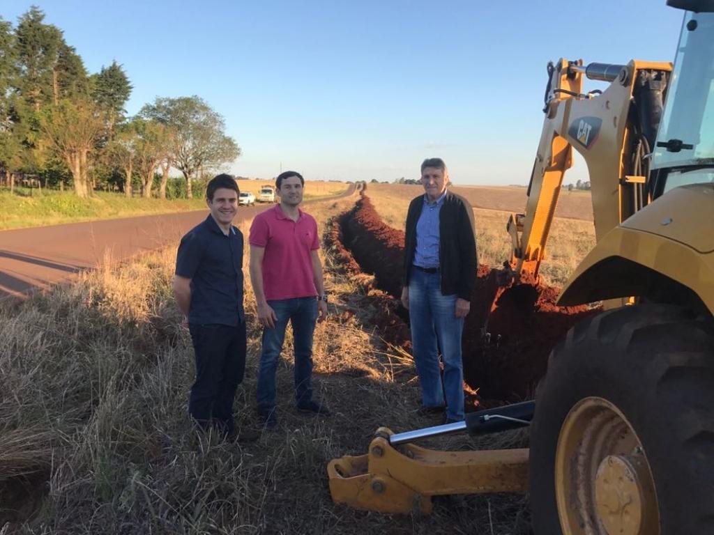 Comitiva avalia melhorias para o Distrito de Pinheiro Marcado