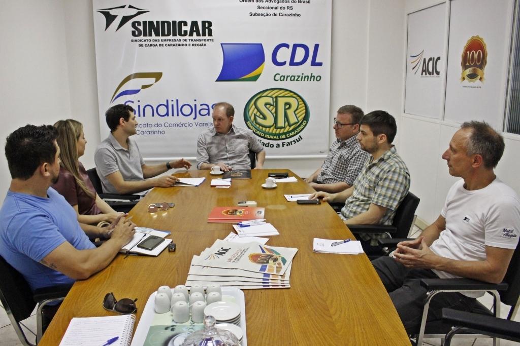 Vereador busca parceiros para efetivação do Troco Solidário no município