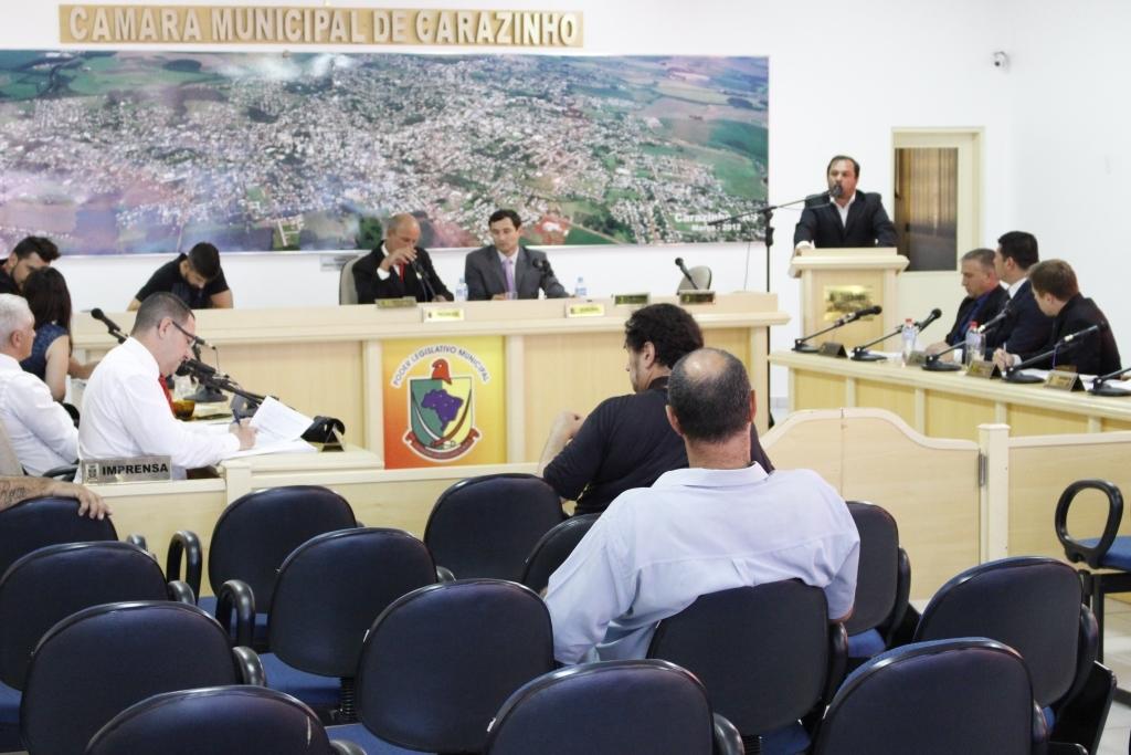 Nenhum projeto é votado durante sessão ordinária da Câmara de Vereadores