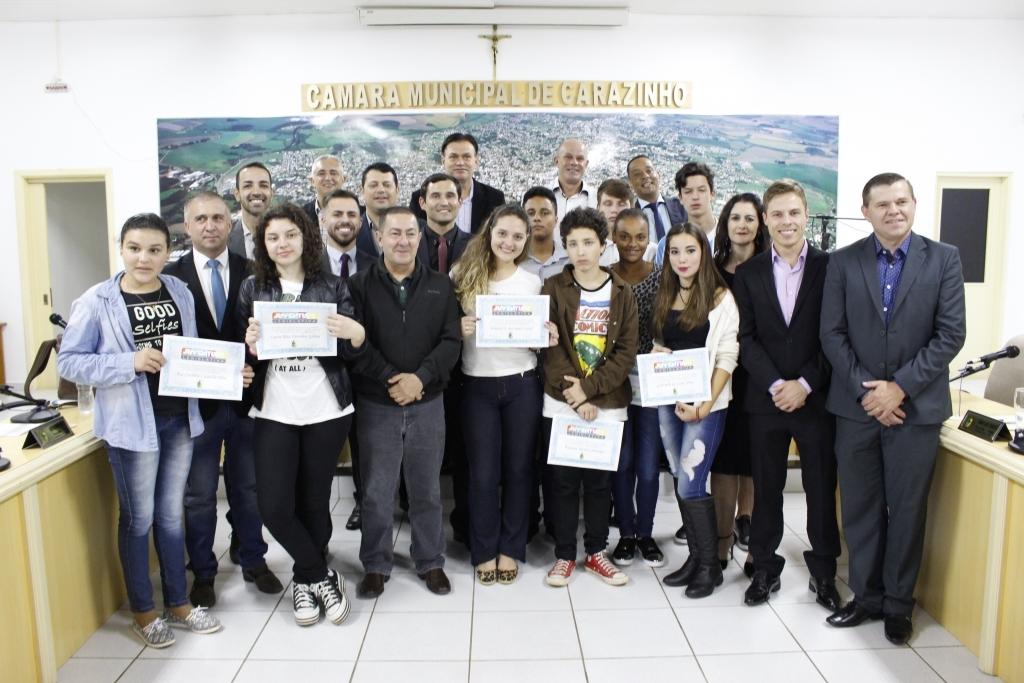 Diplomados os vereadores do Programa Juventude Legislativa
