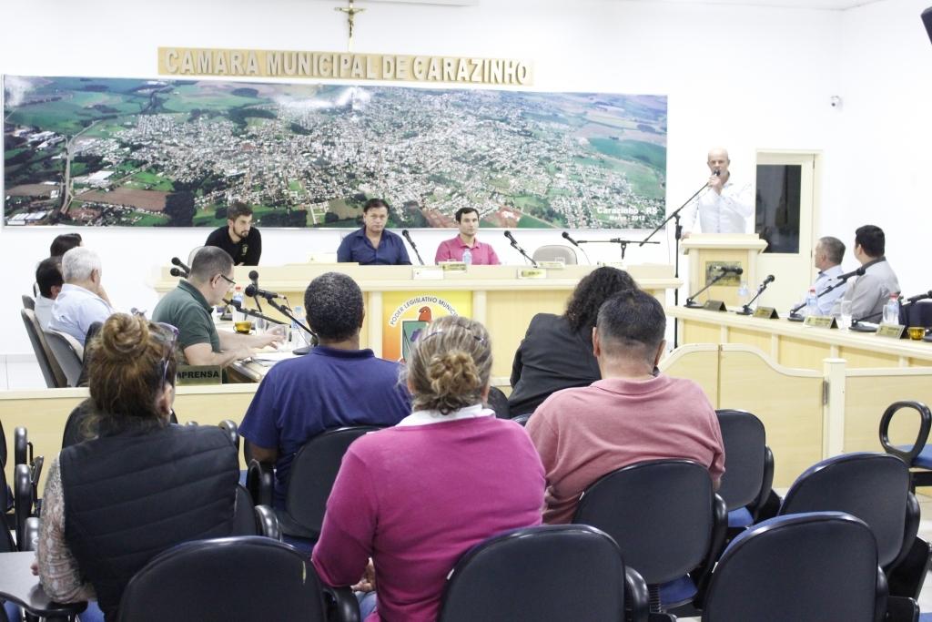 Câmara aprova projeto que institui o Programa Semear em Carazinho