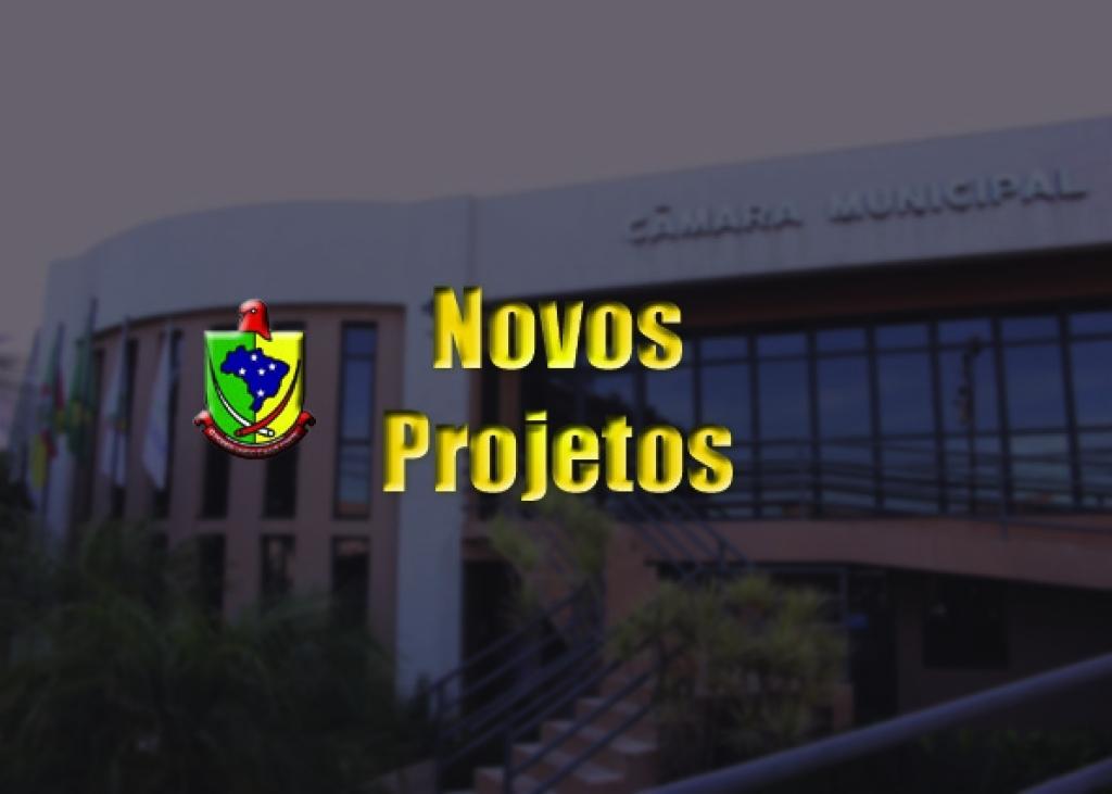 Oito novos projetos na Câmara de Vereadores
