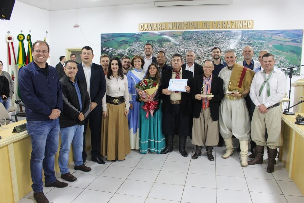 Sessão solene homenageia Tradicionalistas Destaque 2018
