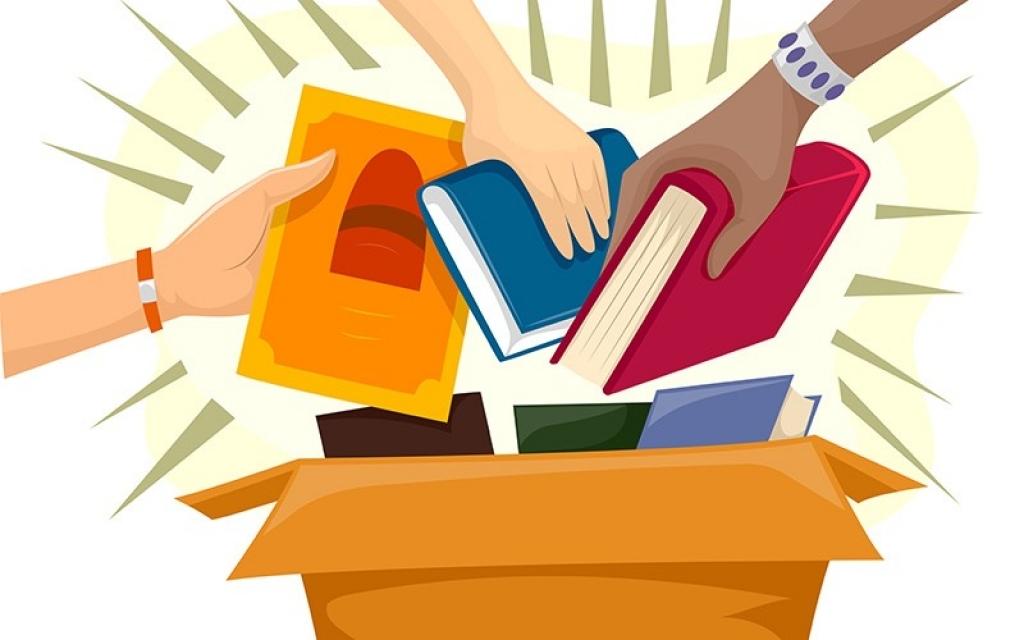 Doe livros, compartilhe conhecimento você também